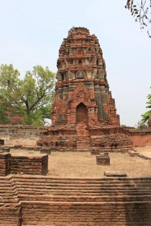 ワット・マハタート。13世紀の重要な寺院の一つ。