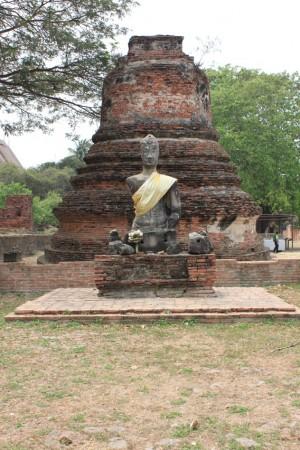 ワット・プラシーサンペット。チェディと呼ばれる仏塔が多く建てられた王室専用寺院。
