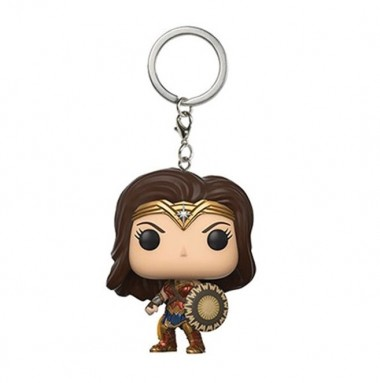 Funko POP Key Chain Wonder Woman w/Shield and Sword